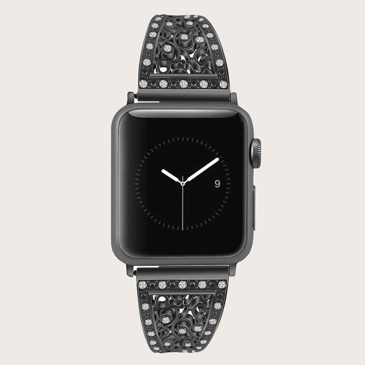 Ремешок для часов Apple со стразами
