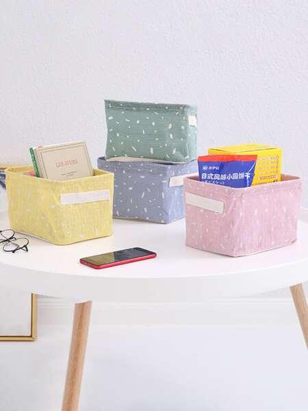 1pc Random Color Storage Basket