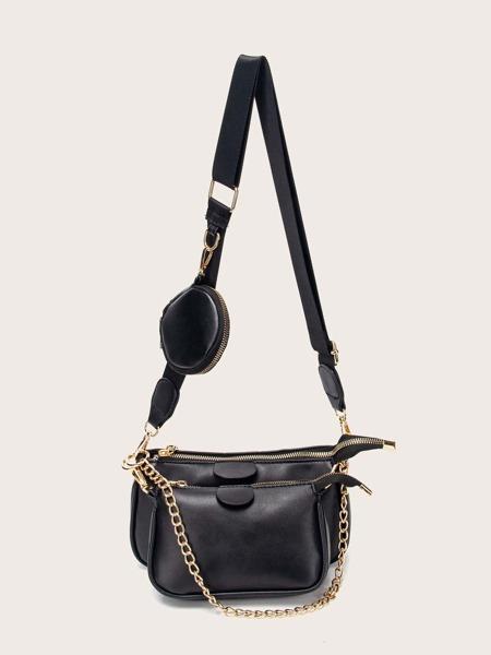 3pcs Minimalist Crossbody Bag Set