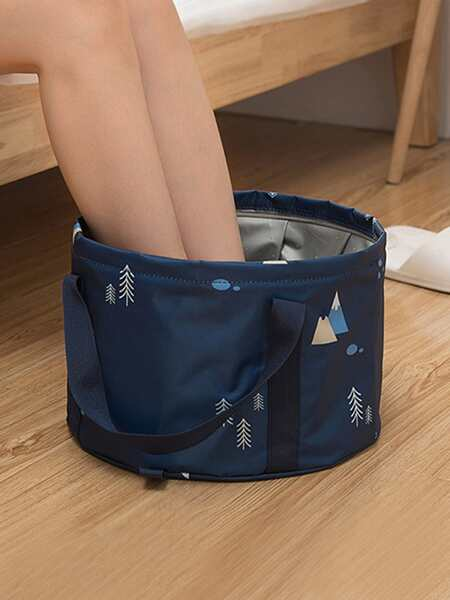 1pc Portable Foot Bath Bag
