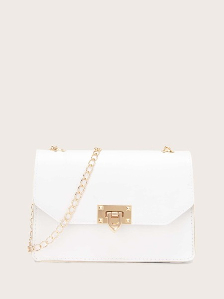Minimalist Flap Chain Bag
