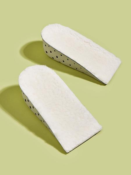 1pair 3CM Plush Warm Heightening Pad