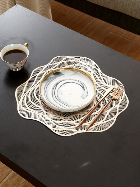 1pc Hollow Insulation Placemat