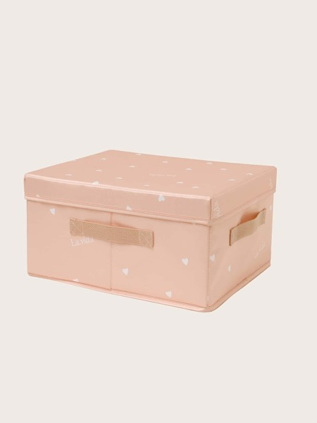 Heart Print Storage Box
