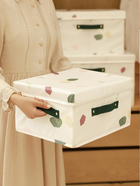 Graphic Print Storage Box