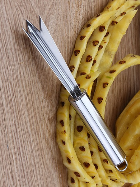 1pc Stainless Steel Pineapple Knife