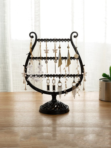 1pc Cup Shaped Jewelry Display Rack