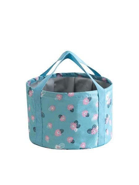 Flower Print Foot Bath Bag