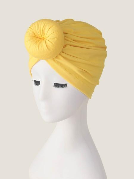 Solid Turban Hat