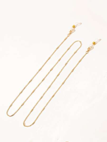 1pc Metal Face Mask Chain