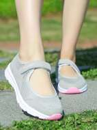 Velcro Strap Breathable Sneakers