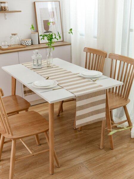 Striped Pattern Table Runner