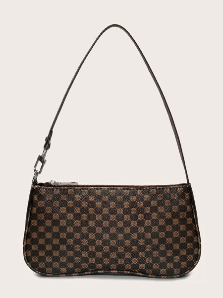 Minimalist Graphic Shoulder Bag