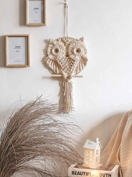 Owl Woven Wall Hanging