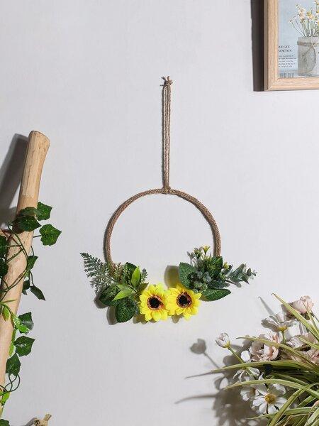 Flower Decor Wall Hanging