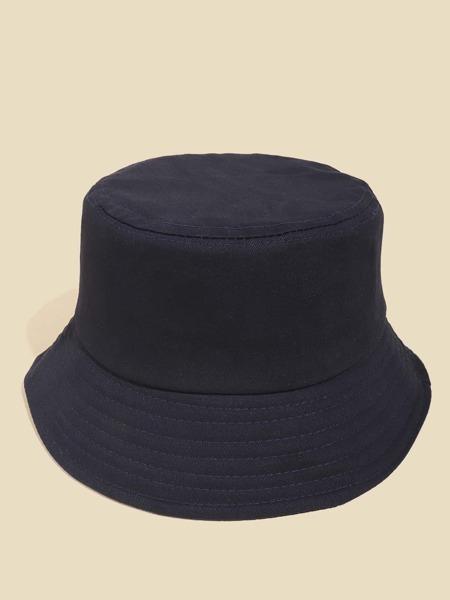 Plain Sun Protection Bucket Hat