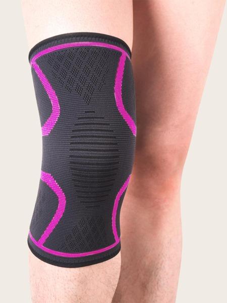 1pc Striped Sports Knee Pad