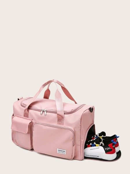 Pocket Front Duffel Bag