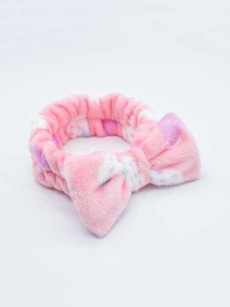Bow Decor Bath Headband