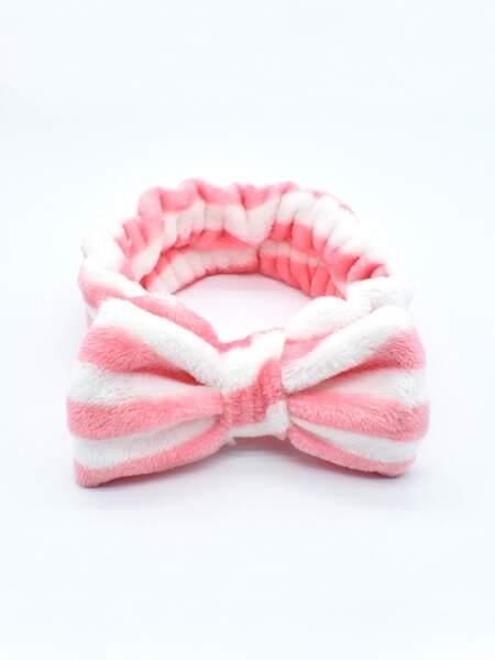 Striped Pattern Bath Headband