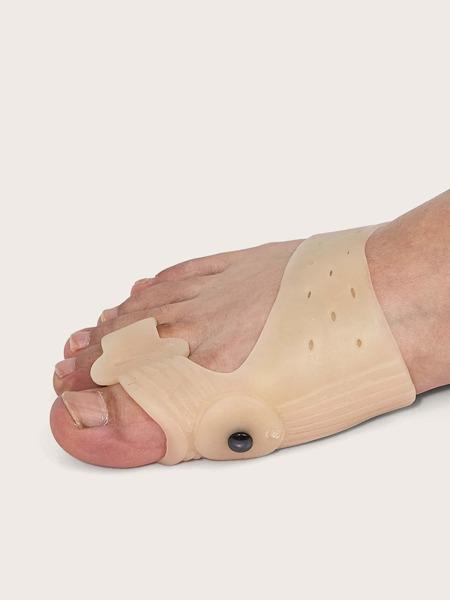 1pair Silicone Toe Corrector