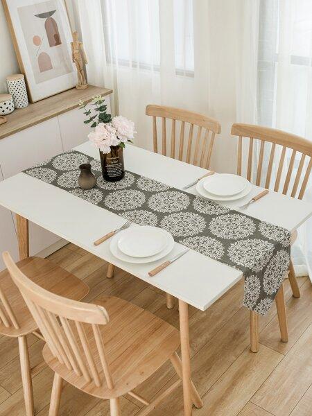 Royal Floral Pattern Table Runner