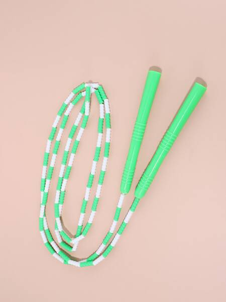 Color Block Skipping Rope