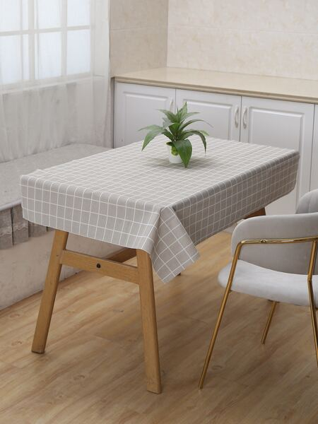 Plaid Pattern Water Proof Tablecloth