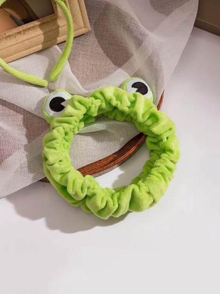 Cartoon Frog Bath Headband