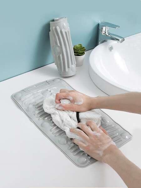 1pc Silicone Foldable Washboard