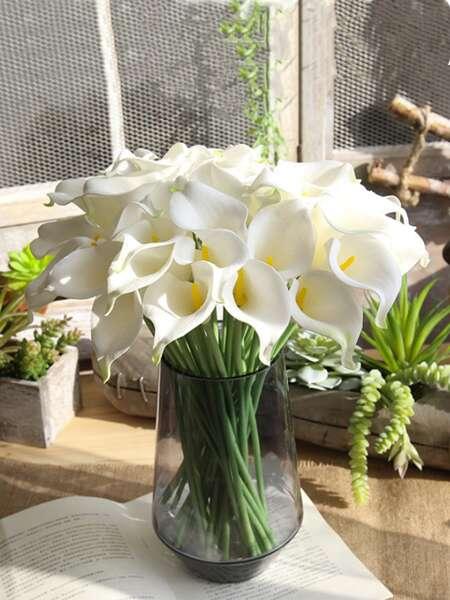 6pcs Artificial Calla Lily