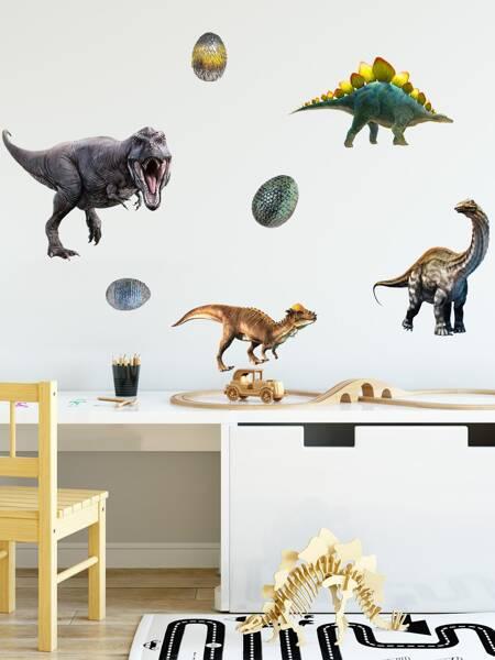 Kids Dinosaur Print Wall Sticker