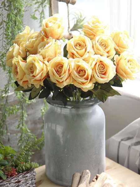 1branch Artificial Rose