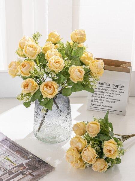 1bunch Artificial Flower With 9pcs Head
