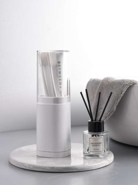 1pc Travel Toothbrush Storage Box