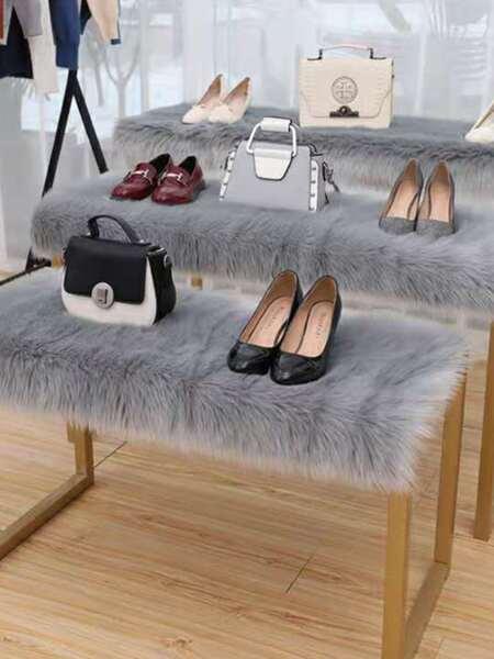 1pc Plain Plush Shaggy Carpet