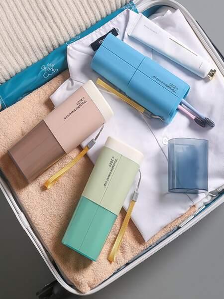 1pc Portable Random Toothbrush Box