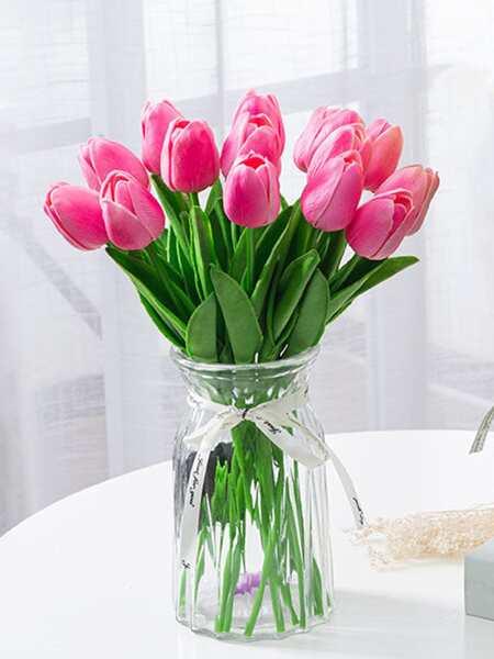 6branches Artificial Tulip