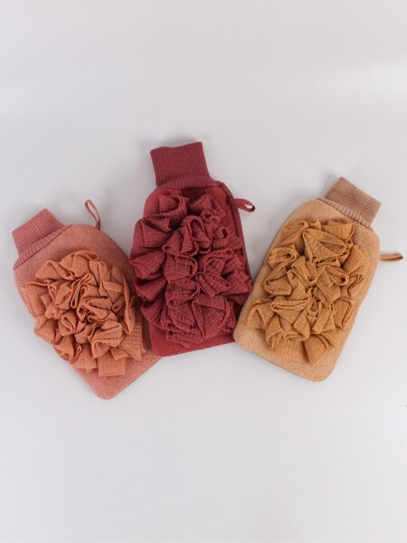 1pc Random Double-sided Exfoliating Glove