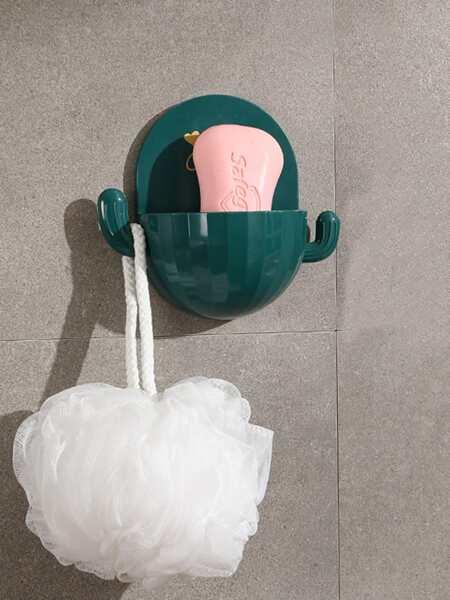 1pc Cactus Shaped Soap Dish Holder