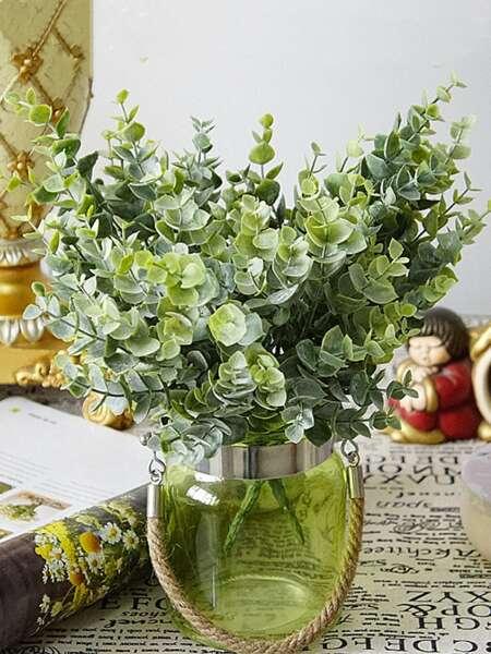 1bundle Artificial Eucalyptus