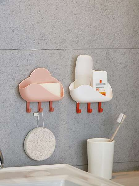 1pc Multifunction Random Soap Dish Holder
