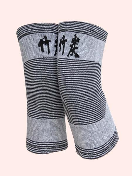 1pair Striped Sports Knee Pads