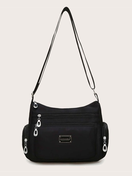 Pocket Side Crossbody Bag