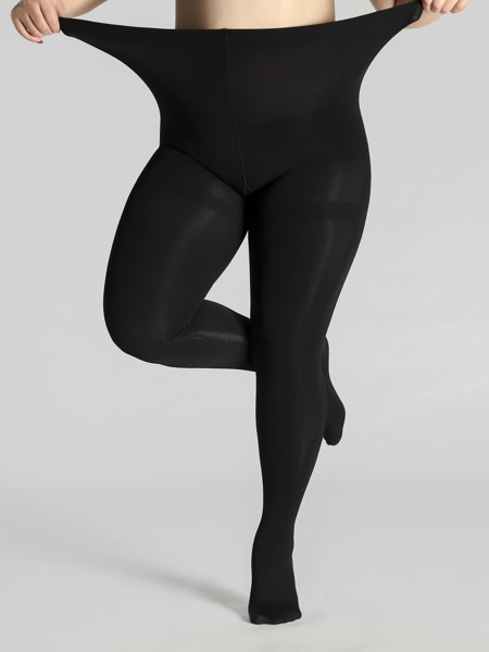 1000D Sheer Plus Size Tights