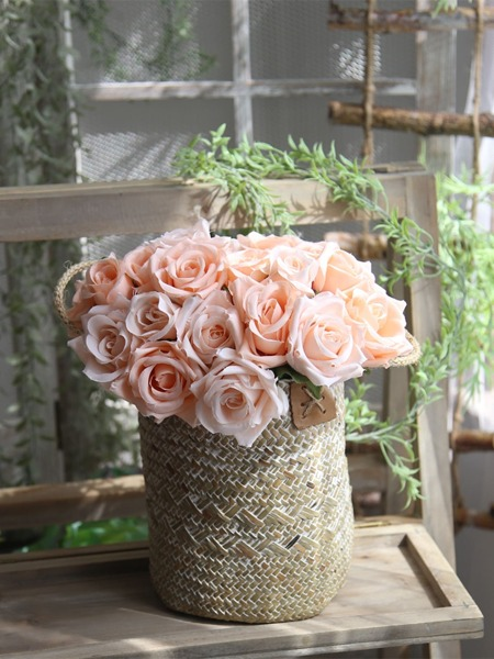 9branches Artificial Rose