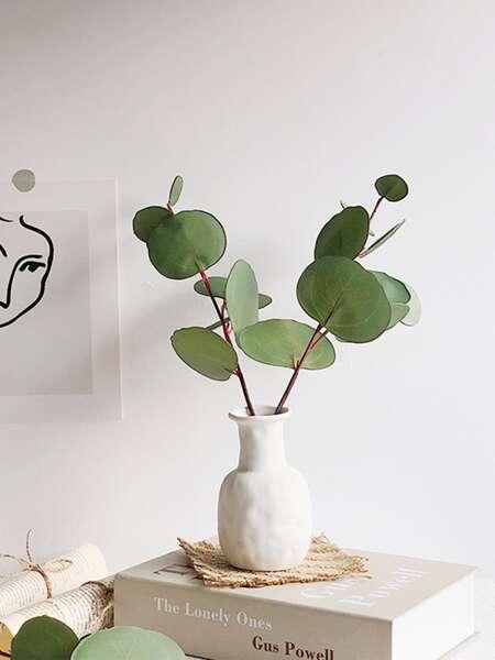 1pc Artificial Eucalyptus Leaf