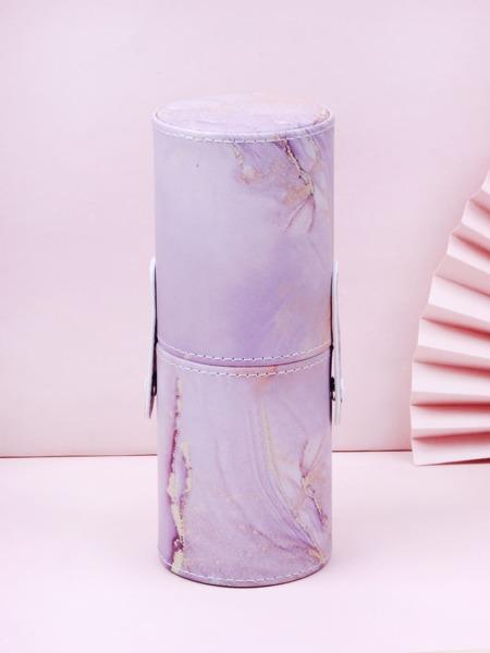 Abstract Fluid Pattern Makeup Brush Storage Box