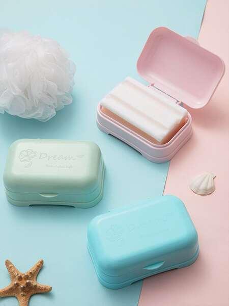 1pc Random Color Soap Box