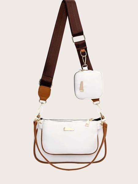 3pcs Minimalist Baguette Bag Set
